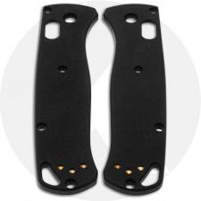 KP Custom G10 Scales for Benchmade Bugout Knife - Black