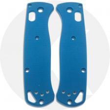 KP Custom G10 Scales for Benchmade Bugout Knife - Cobalt Blue