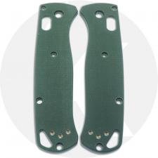 KP Custom G10 Scales for Benchmade Bugout Knife - Forest Green