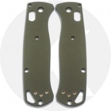 KP Custom G10 Scales for Benchmade Bugout Knife - OD Green
