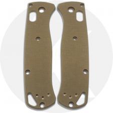 KP Custom G10 Scales for Benchmade Bugout Knife - Desert Tan
