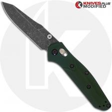 MODIFIED Benchmade Mini Osborne 945 Knife - Acid Stonewash Blade
