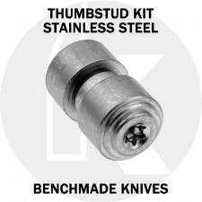 KP Custom Thumbstud for Benchmade Knife - Stainless Steel