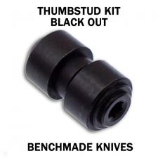 KP Custom Thumbstud for Benchmade Knife - Black Stainless Steel