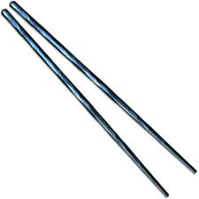 Kizer Ti-Chop T309A2 Chop Sticks Set Blue Milled Titanium