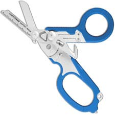 Leatherman Raptor Tool 832344 6 Function Medical Shears Multi Tool Blue GFN Grips