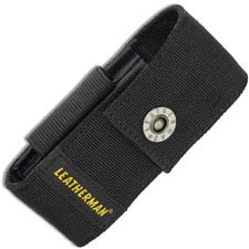 Leatherman Medium Sheath with Pockets 934932 Black Nylon Fits Wave, Charge, SkeleTool and More Leatherman Tools