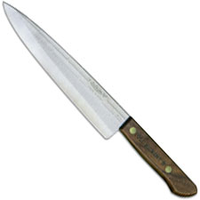 Old Hickory 79-8 Cook Knife 8 Inch Carbon Steel Blade Hardwood Handle USA Made