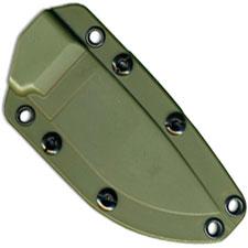 Ontario RAT-3 8622 OD Green Kydex Sheath with Boot Clip and Tek-Lok