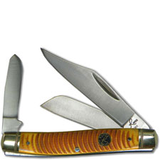Roper Stockman Knife, Sand Viper, RP-1CAR