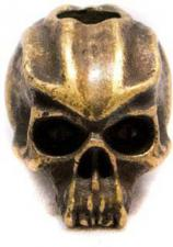 Schmuckatelli Cyber Pewter Bead - Roman Brass Oxidized Finish - CYRBO