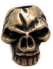 Schmuckatelli Emerson Pewter Bead - Roman Brass Oxidized Finish - ERBO