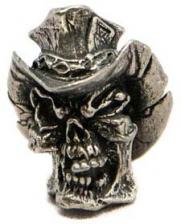 Schmuckatelli Vinnie Garoon Pewter Bead - Pewter Finish - VGP