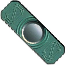 Stedemon Z01 Hand Spinner Fidget Toy Stress Reliever Z01GRN Teal Green Anodized Titanium