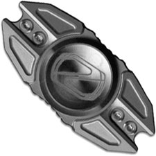 Stedemon Z02 Hand Spinner Fidget Toy Stress Reliever Z02BLS Bead Blast Titanium