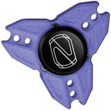 Stedemon Z04GBLU Fidget Spinner Stress Reliever Blue G10 Tri Lobe