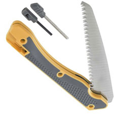 Smiths Folding Limb Saw with Sharpener and Firestarter 50836