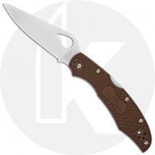 Spyderco Byrd Cara Cara 2 BY03PBN2 Knife Value Price EDC Lock Back Folder Brown FRN