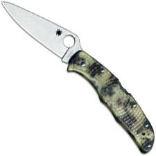 Spyderco Endura 4 Knife C10ZFPGITD - Flat Ground VG10 - Glow in the Dark Zome FRN