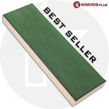KNIVES PLUS ® STROP BLOCK, Leather Sharpening Strop, KP-STROP8