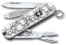 Victorinox Classic SD - Limited Edition Cubic Illusion - 7 Function Multi Tool - 0.6223.L2105