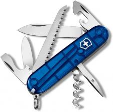 Victorinox Camper 1.3613.T2RUS1 Swiss Army Knife Sapphire Pocket Knife Made in Switzerland
