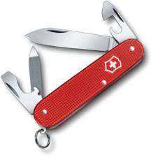 Victorinox 0.2601.L18 Cadet Knife Limited Edition Berry Red Alox 9 Function Multi Tool