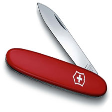 Victorinox Sentry 53871 Swiss Army Knife Slim Red Pocket Knife Made in Switzerland