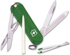 Victorinox Classic SD, Translucent Emerald, VN-54214