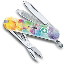 Victorinox 0.6223.L1701US2 Classic SD Limited Edition Dragonfly 7 Function Multi Tool