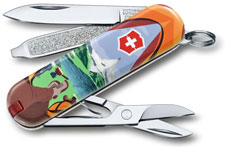 Victorinox 0.6223.L1802US2 Classic SD Limited Edition Call of Nature 7 Function Multi Tool