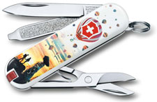 Victorinox 0.6223.L1804US2 Classic SD Limited Edition Cappadocia 7 Function Multi Tool