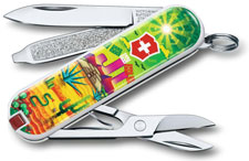 Victorinox 0.6223.L1807US2 Classic SD Limited Edition Mexican Sunset 7 Function Multi Tool