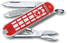 Victorinox 0.6223.L1808US2 Classic SD Limited Edition A Trip to London 7 Function Multi Tool