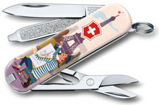 Victorinox 0.6223.L1810US2 Classic SD Limited Edition The City of Love 7 Function Multi Tool