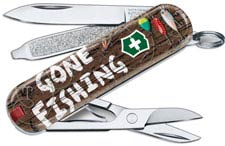 Victorinox Classic SD - Limited Edition Gone Fishing - 7 Function Multi Tool - 0.6223.L2005