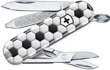 Victorinox Classic SD - Limited Edition World of Soccer - 7 Function Multi Tool - 0.6223.L2007