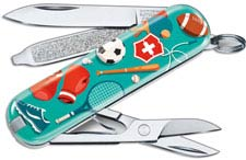 Victorinox Classic SD - Limited Edition Sports World - 7 Function Multi Tool - 0.6223.L2010