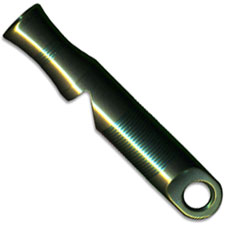 WE Knife A-05C Green Titanium 120 Decibel Emergency Whistle