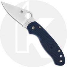 Spyderco Para 3 Lightweight C223PCBL - CPM SPY27 Blade - Blue FRN Handle - Compression Lock - USA Made